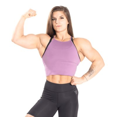 Performance Crop Halter Strong Purple