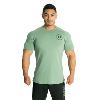 Gym Tapered Tee, Teal Green