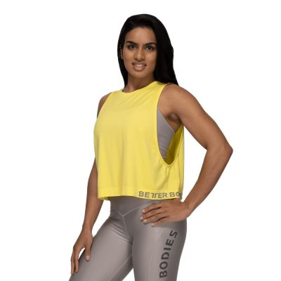 Rockaway seamless tank, Lemon Yellow