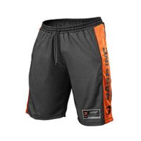No1 mesh shorts black/flame