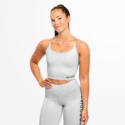 Vesey Strap Top, Frost Grey