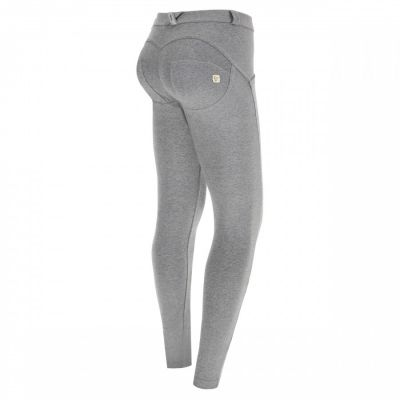 REGULAR WAIST SKINNY - H4 - MELANGE GREY