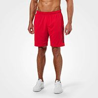 Loose Function Shorts bright red