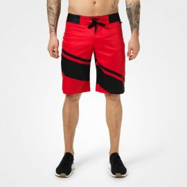 Pro boardshorts, Bright red