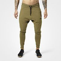 Harlem Zip Pants military green