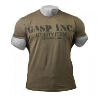 Basic Utility Tee washed green