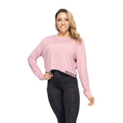 Rockaway Seamless Long Sleeve, Heather Pink