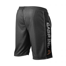 No1 mesh shorts, Black